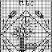 grille point de croix epi de ble