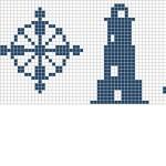 grille point de croix frise