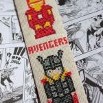 grille point de croix super heros