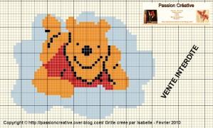 grille point de croix winnie l ourson gratuite #7