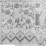 modèle point de croix nappe