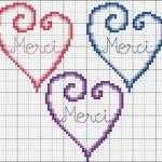 grille point de croix amour