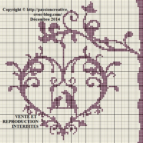 Grille point de croix olaf 13 - Grille point de croix gratuite a imprimer ...
