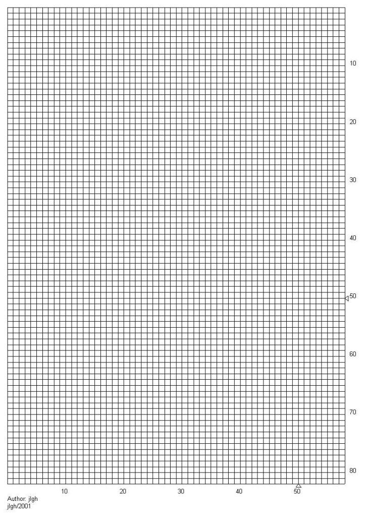 grille vierge pour point de croix a imprimer #2