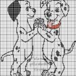modèle point de croix animaux