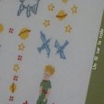modèle point de croix le petit prince