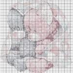 modèle point de croix ourson