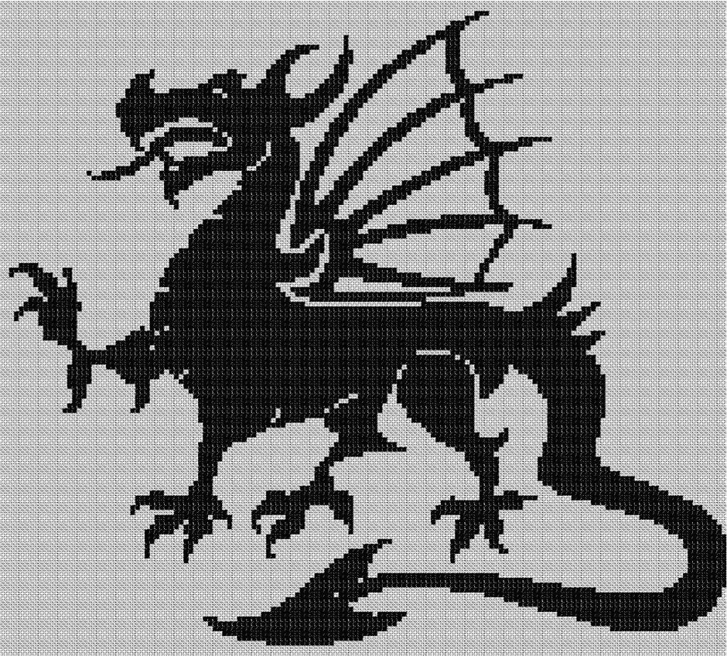 grille point de croix dragon ball z #10