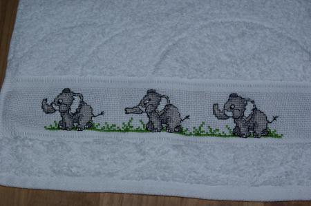 grille point de croix elephant gratuit #8