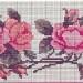 modèle point de croix gratuit fleurs