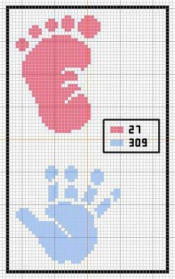 Mod le point de croix naissance 15 - Grille gratuite point de croix naissance ...