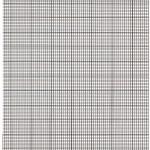 grille point de croix a imprimer vierge