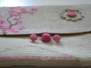 grille point de croix fleur de cerisier