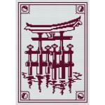 grille point de croix japon
