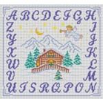 modèle alphabet au point de croix