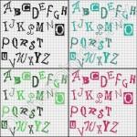 grille gratuite abecedaire au point de croix