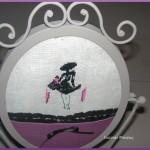 grille point de croix la petite robe noire