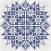 modèle point de croix monochrome gratuit