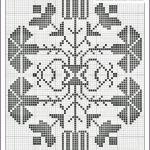 motif point de croix a imprimer