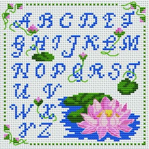 point de croix alphabet #5