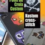 point de croix custom