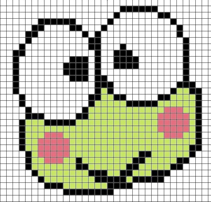 grille point de croix smiley #4