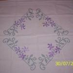 point de croix nappe