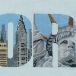 grille point de croix new york gratuit