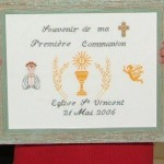 motif point de croix communion