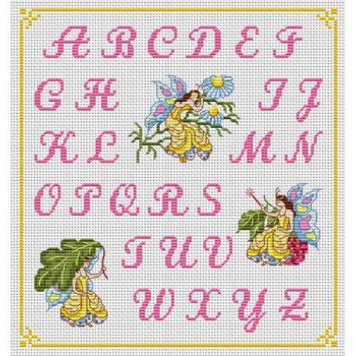 point de croix abecedaire #7