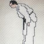 point de croix judo