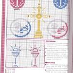 motif point de croix religieux