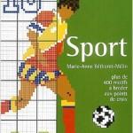 modèle point de croix sport