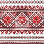 point de croix ukraine