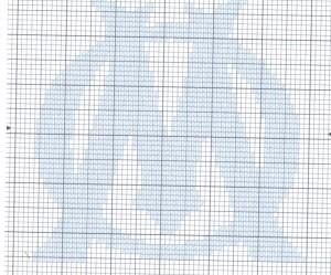 modèle point de croix om