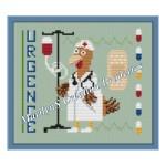 point de croix infirmiere