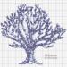 point de croix arbre