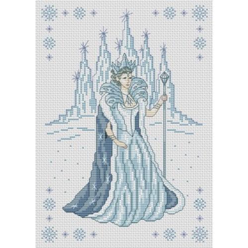 Super Point De Croix Reine Des Neiges grille point de croix la reine des neiges gratuite #10