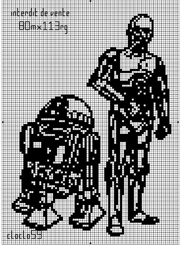 Star wars схема вязания 87