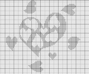 grille point de croix japonaise
