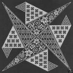 grille point de croix originale