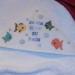 grille point de croix sortie de bain bebe