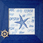 point de croix etoile de mer