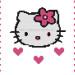 grille point de croix hello kitty gratuit