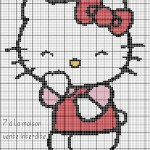 grille point de croix hello kitty gratuit