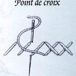 point de croix initiation