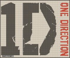 point de croix one direction